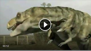 Qobustan dağında Dinozavr !!!