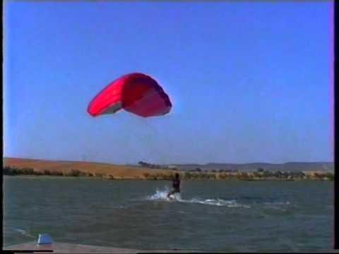 kitesurf parapente