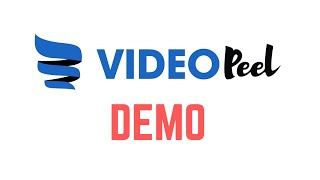 VideoPeel video