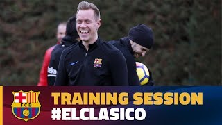 El Clásico week begins with Monday training
