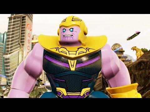 Avengers Infinity War The Mad Titan Thanos Gameplay! LEGO MARVEL 2