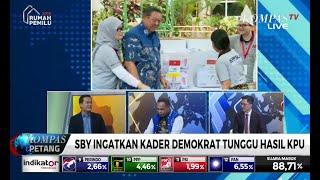 SBY Ingatkan Kader Demokrat Tunggu Hasil KPU & Tak Terlibat Kegiatan yang Menentang Konstitusi