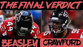 The Final Verdict|Atlanta Falcons UFA's Vic Beasley And Jack Crawford|Re-sign, Walk, Or Tag