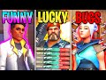 VALORANT: FUNNY vs LUCKY vs BUGS!! - NEW Valorant Funny & Lucky Highlights Montage