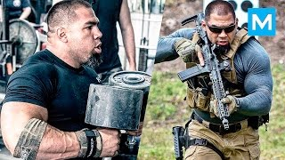 Special Forces Strength Training with SWAT Tony Sentmanat | Muscle Madness