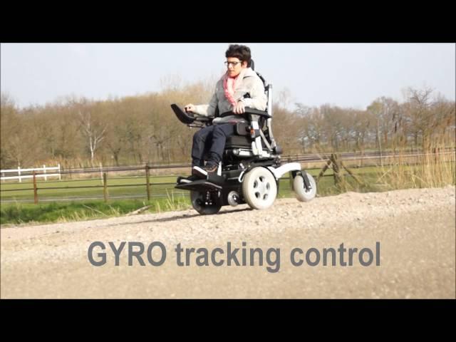 Quickie Puma 40 Powered Wheelchair Video
