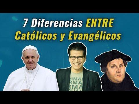 7 Grandes Diferencias Entre Católicos y Cristianos Evangélicos