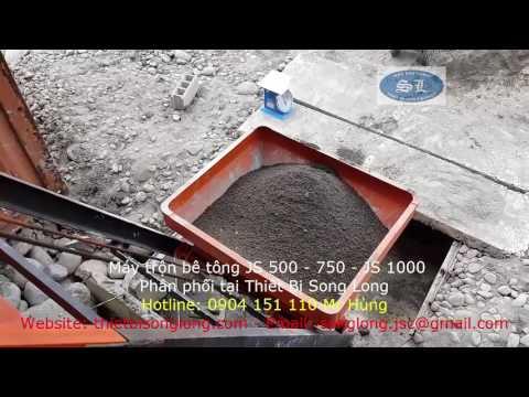Máy trộn bê tông js500 Thiết bị Song Long