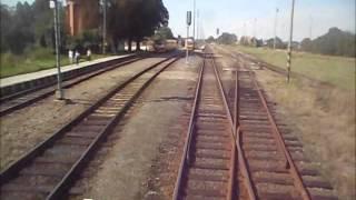 preview picture of video 'České Dráhy: Trat' 317 Opava východ - Kravaře ve Slezsku - Hlučín (100%)'