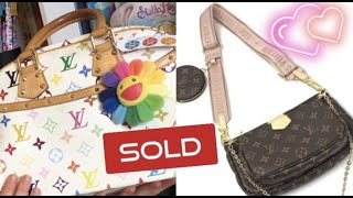 LOUIS VUITTON BAGS I HAVE SOLD AND WHY!