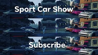 SPORT CARS JOIN NOW CARMEET LIVE.......GTA ONLINE