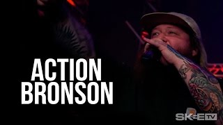 """Action Bronson """"Actin' Crazy"""" (Debut Television Performance) Live on SKEE TV"""