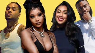 Summer Walker and London shades Queen Naija and Clarence 😳