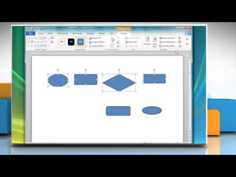 How To Create A Flow Chart In Microsoft® Word 2010 Mp3