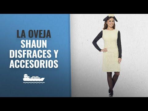 10 Mejores Disfraces Y Accesorios De La Oveja Shaun : Smiffy's - Disfraz de Shaun la Oveja con
