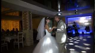 Танец невесты с папой. Слова песни захватывают дух.