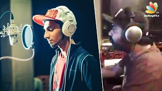 Simbu : What a changeover ! I'm recording and Anirudh is singing | Hot Tamil Cinema News