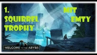 Trials Fusion – Welcome to the Abyss DLC #1 - alle 3 Eichhörnchen / Squirrel Trophy