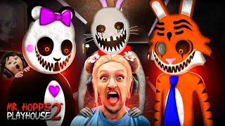 Fluffy Bunny Scary!!  Mr. HOPPS Playhouse 2 is TERRIFYING (FGTeeV Gameplay/Skit)