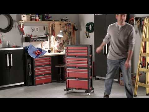 Стеллаж для инструментов Keter 3 Drawer Tool Chest Set 17199301