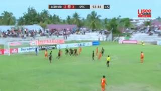 BABAK KE-2 LIGA 2 ACEH UNITED VS SEMEN PADANG FC