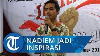 Sosok Nadiem Makarim Jadi Inspirasi Putra Sulung Presiden Jokowi