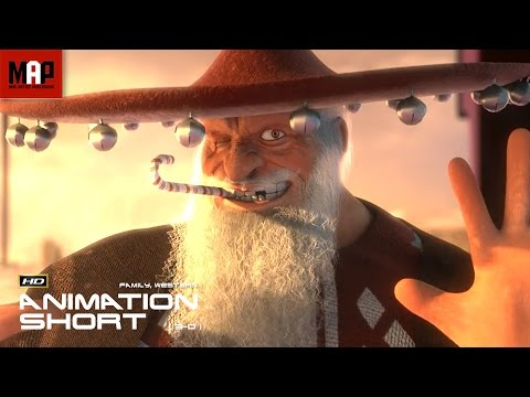"""CGI 3D Animated Short Film """"A FISTFUL OF PRESENTS""""- Surprising Animation by Cole Clark & Ringling"""