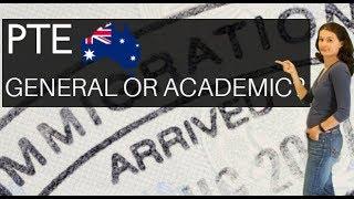 Что принимают на визы в Австралию: PTE General или PTE Academic? Чем еще отличаются эти экзамены?