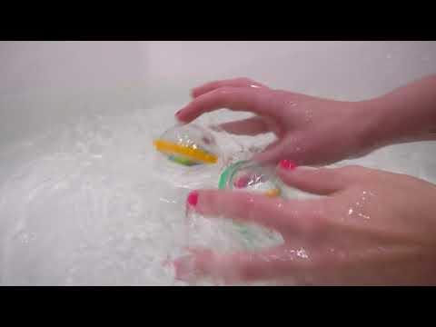Munchkin игрушка для ванны Пузыри-поплавки  черепашка 2 шт.3+