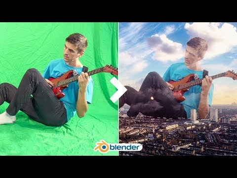 Blender 2.8 VFX Tutorial   Green Screen