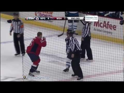 Matt Hendricks vs. Jim Slater