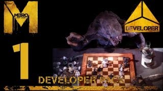 Прохождение Metro: Last Light [DLC: Developer Pack] (HD 1080p) - Часть 1: Паучье логово