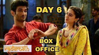 Sushant Singh Rajput Kedarnath 6th Day Box Office Collection