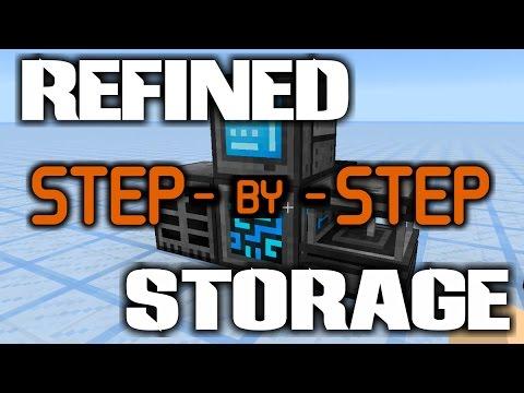 Step by Step: Refined Storage Mod || BASIC SETUP! || (Minecraft 1.11.2 Tutorial)