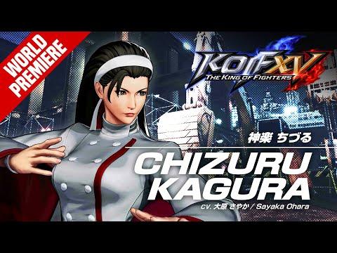 The King of Fighters XV : CHIZURU KAGURA?Character Trailer #7 (4K)