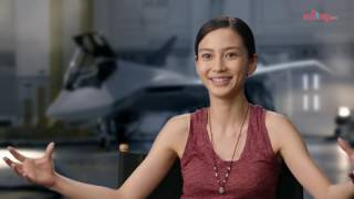 Angelababy on her