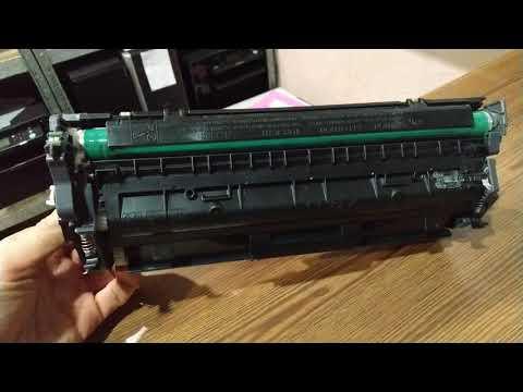 HP LaserJet M130a M134a Pickup Roller Changing - смотреть