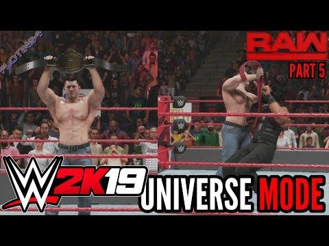 WWE 2K19 | UNIVERSE MODE #5 | HEEL TURN