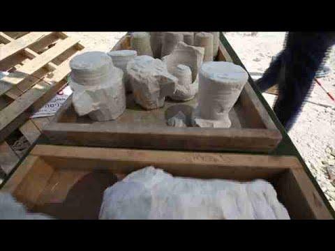 Hallan un taller de vasijas de piedra para ritos judíos de la época de Jesús