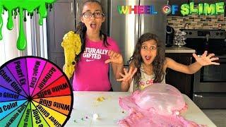 Mystery Wheel of Slime Challenge!!