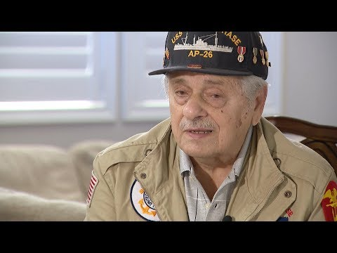 WWII Veteran recalls storming Omaha Beach on D-Day