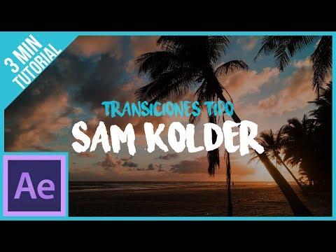 Transiciones Estilo Sam Kolder En After Effects || Tutorial