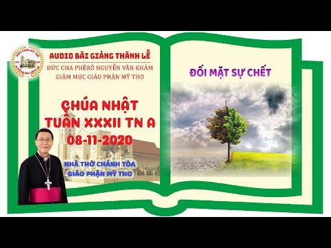 Đức Cha Phêrô suy niệm CN XXXII TN A: ĐỐI MẶT SỰ CHẾT