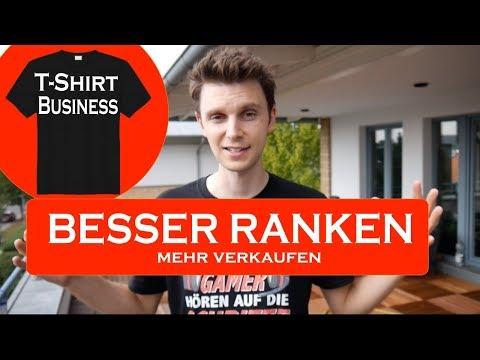 , title : 'T Shirt Business Keywords, Titel, Tags & Ranking erklärt 2019 Tutorial - Wie entsteht ein Listing?'