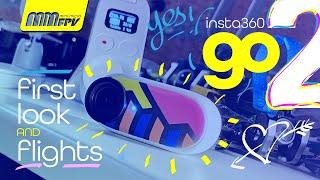 First Look & Flights: Insta360 GO 2