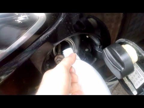 Die natürliche Abnahme nach dem Benzin, wie abzuschreiben