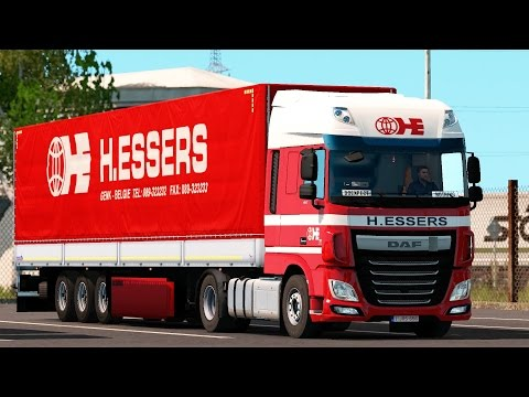 ETS 2 1 27 ProMods 2 16 DAF XF106 Antwerpen - E45 Truckstop Part 1/2 -  doexpectnothing