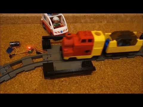 Lego duplo Eisenbahn - Arduino Schranke Teil 2
