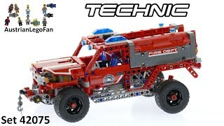 Lego Technic 42075 First Responder - Lego Speed Build Review