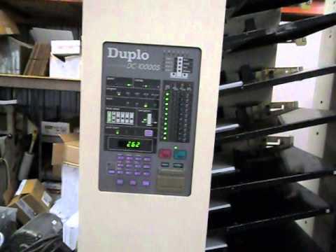 Compaginadora Duplo DC10000S con Duplo Grapadora automatica y Guillotina